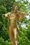 Stadtpark Johann Strauss Monument Art Print