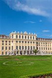 Schonbrunn Palace, Garden Art Print