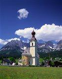 Church at Going, Tyrol, Austria Art Print