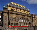 National Theatre, Prague, Czech Republic Art Print