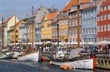 Nyhavn, Copenhagen, Denmark Art Print