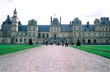 Fontainebleau Palace, France Art Print