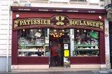 Bakery in France Art Print