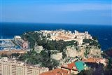 Principality of Monaco at Monte Carlo, France Art Print