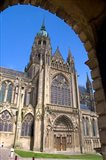 The Bayeux Cathedral Art Print