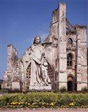 Ruins of St Bertin Abbey, St Omer, France Art Print