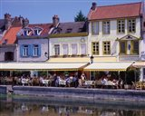 Amiens Built on Waterways and Canals, France Art Print