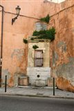 Port and Commercial Town of Corsica, France Art Print