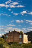 Abazia Farmhouse at Sunset Art Print