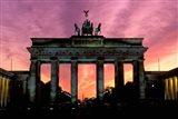 Berlin Brandenburg Gate, Germany Art Print