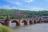 Carl Theodor Bridge, Heidelberg Castle Art Print
