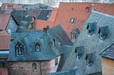Rooftops in Miltenberg, Germany Art Print