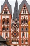Germany, Hesse, Limburg An Der Lahn, St Georgsdom Cathedral, 13th Century Art Print