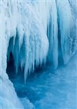 Godafoss Waterfall Of Iceland During Winter Art Print