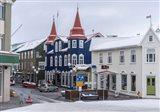 Akureyri, Iceland During Winter Art Print