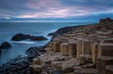 Twilight Over The Giant's Causeway, County Antrim, Northern Ireland Art Print