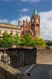 Guildhall, City Council Chambers, Derry, County Londonderry, Northern Ireland Art Print