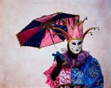 Elaborate Costume For Carnival, Venice, Italy Art Print