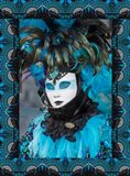 Elaborate Masked Costume For Carnival, Venice, Italy 19 Art Print
