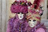 Venice At Carnival Time, Italy Art Print
