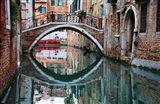 Italy, Venice, Canal Art Print