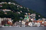 Norway, Bergen Bergen Harbour Art Print