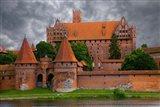 Poland, Malbork Medieval Malbork Castle Art Print