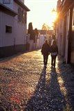 Albaicin Sunset, Granada, Spain Art Print