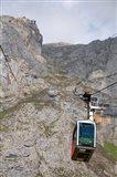 Tram, Picos de Europa at Fuente De, Spain Art Print