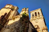 Spain, Andalusia, Cadiz, Arcos De la Fontera Basilica de Santa Maria Art Print