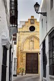 Spain, Andalusia, Cadiz, Arcos De la Fontera The Chapel of Mercy Art Print