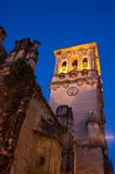 Spain, Andalusia Bell tower of the Santa Maria De La Asuncion Church Art Print
