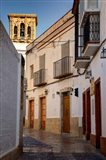 Spain, Andalusia, Cadiz, Arcos De la Fontera Typical Street View Art Print
