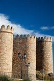 Spain, Castilla y Leon Region, Avila Scenic Medieval City Walls Art Print