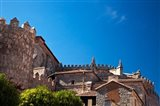 Spain, Castilla y Leon Region, Avila Avila Cathedral detail Art Print