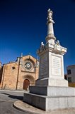 Spain, Avila St Peter's Church in the Plaza De Santa Teresa Art Print