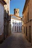 Spain, Andalusia, Banos de la Encina Street Scene Art Print