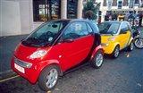 Smart Cars, London, England Art Print