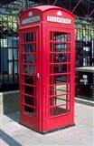 Red Telephone Booth, London, England Art Print