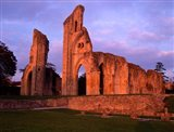 Glastonbury Abbey, England Art Print