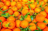 Oranges Displayed In Market In Shepherd's Bush, Londo Art Print