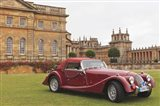 Classic cars, Blenheim Palace, Oxfordshire, England Art Print