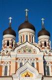 Estonia, Tallinn View Of Alexander Nevsky Cathedral Art Print