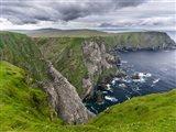 Hermaness National Nature Reserve On Unst Island Shetland Islands Art Print