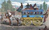 Horse-Drawn Omnibus Art Print