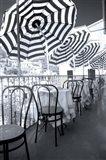 Restaurant In Hillside Town Of Vernazza, Cinque Terre, Italy Art Print