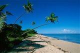 Resort, Malololailai, Fiji Art Print