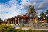 Hindu temple, Nadi, Viti leva, Fiji Art Print