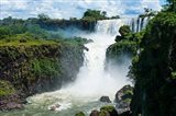 Largest Waterfalls, Foz De Iguazu, Argentina Art Print