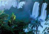 Iguacu National Park, Parana State, Iguacu Falls, Brazil Art Print